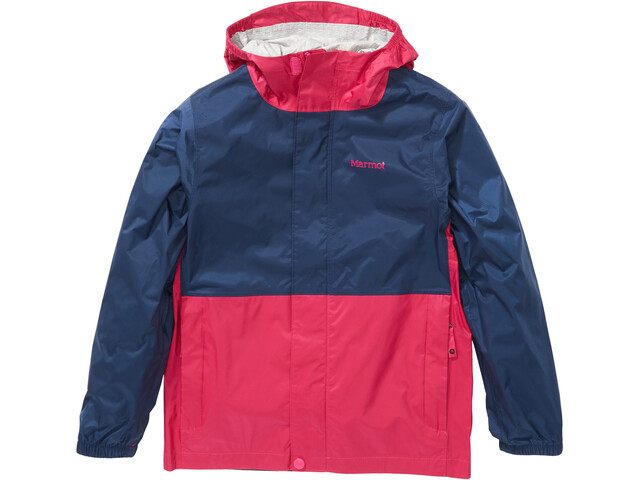 Marmot PreCip Eco Jacket Kids very berry/arctic navy